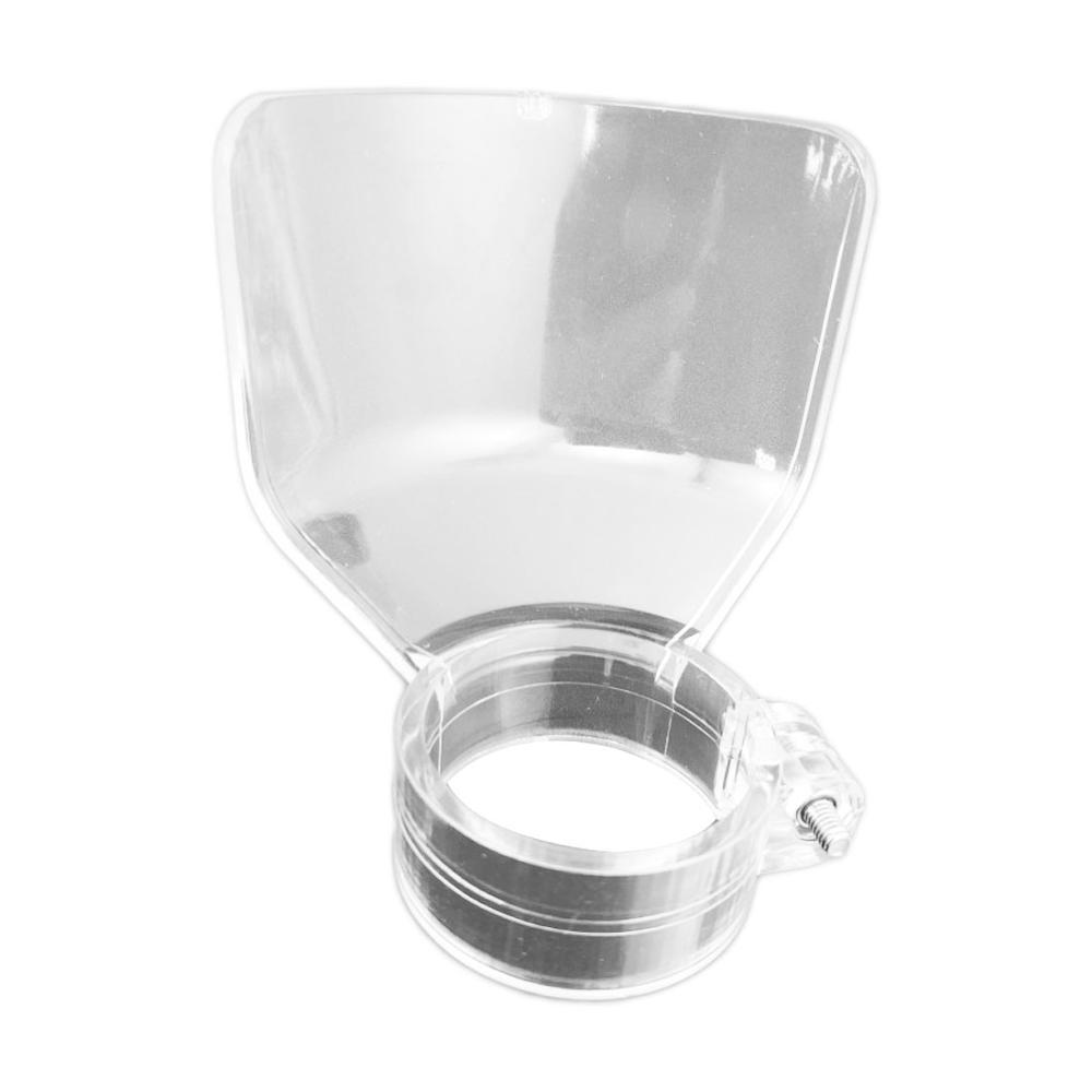 Cubierta protectora de seguridad transparente escudo eléctrico moler accesorios de Dremel soporte...