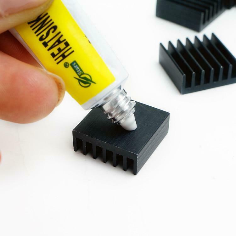 Thermische Leitfähigen Kühlkörper Viskose Klebstoff Kleber Verbindung Kleber Kühlkörper Plas Für Circuit Board Pcb CPU LED IC Leitfähigen