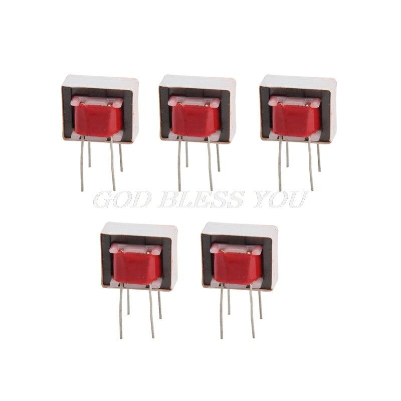 5x transformadores de áudio 600600 ohm europa 11 ei14 isolamento transformador tocando transporte da gota
