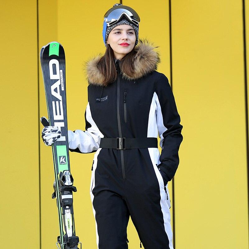 RUNNING RIVER Brand Waterproof Jacket For women ski Suit women skiing  Jacket Female Snowboarding  jumpsuit #N9470T