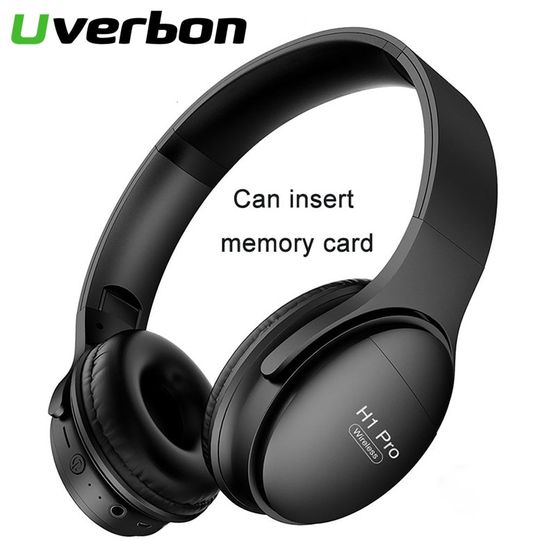H1Pro Wireless Bluetooth Headphone Noise Cancelling Sport Stereo Headset Support Memory Cards Headphones Bluetooth Phone Adapter enlarge