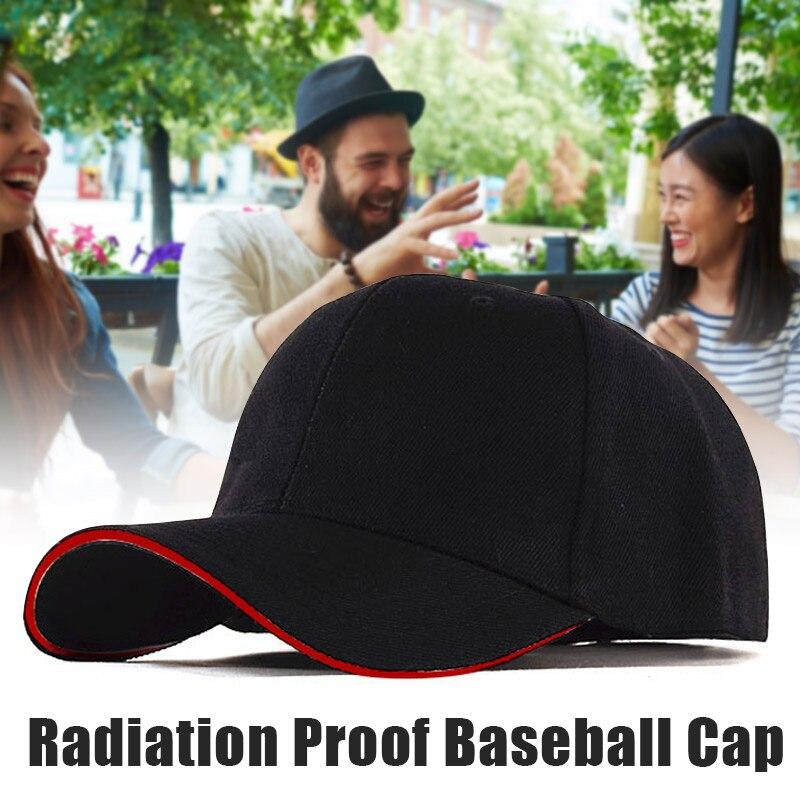قبعة بيسبول للرجال مع حماية من الإشعاع ، قبعة بيسبول مع حماية من الإشعاع ، مقاومة للماء ، Rfid ، كهرومغناطيسي ، للجنسين