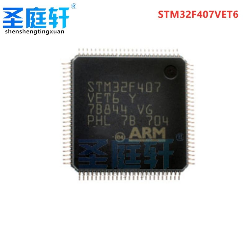 Neue STM32F407VET6 chip mikrocontroller 32-bit 512K flash speicher LQFP-100 original