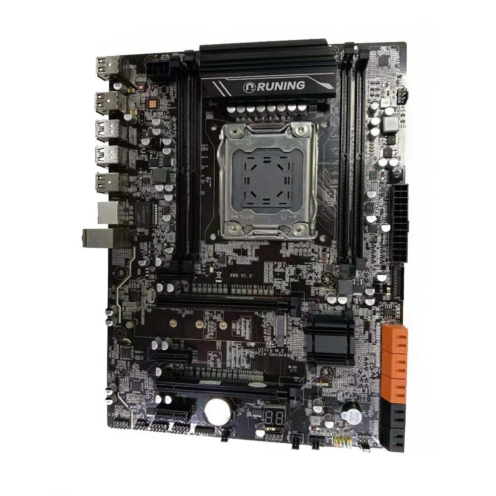 Материнская плата LGA 2011 V3 четырехканальная Память DDR4 64 ГБ для Intel X99 LGA2011 V3 I7 6800K 6900K 5820K 5930K материнская плата 2011 V3