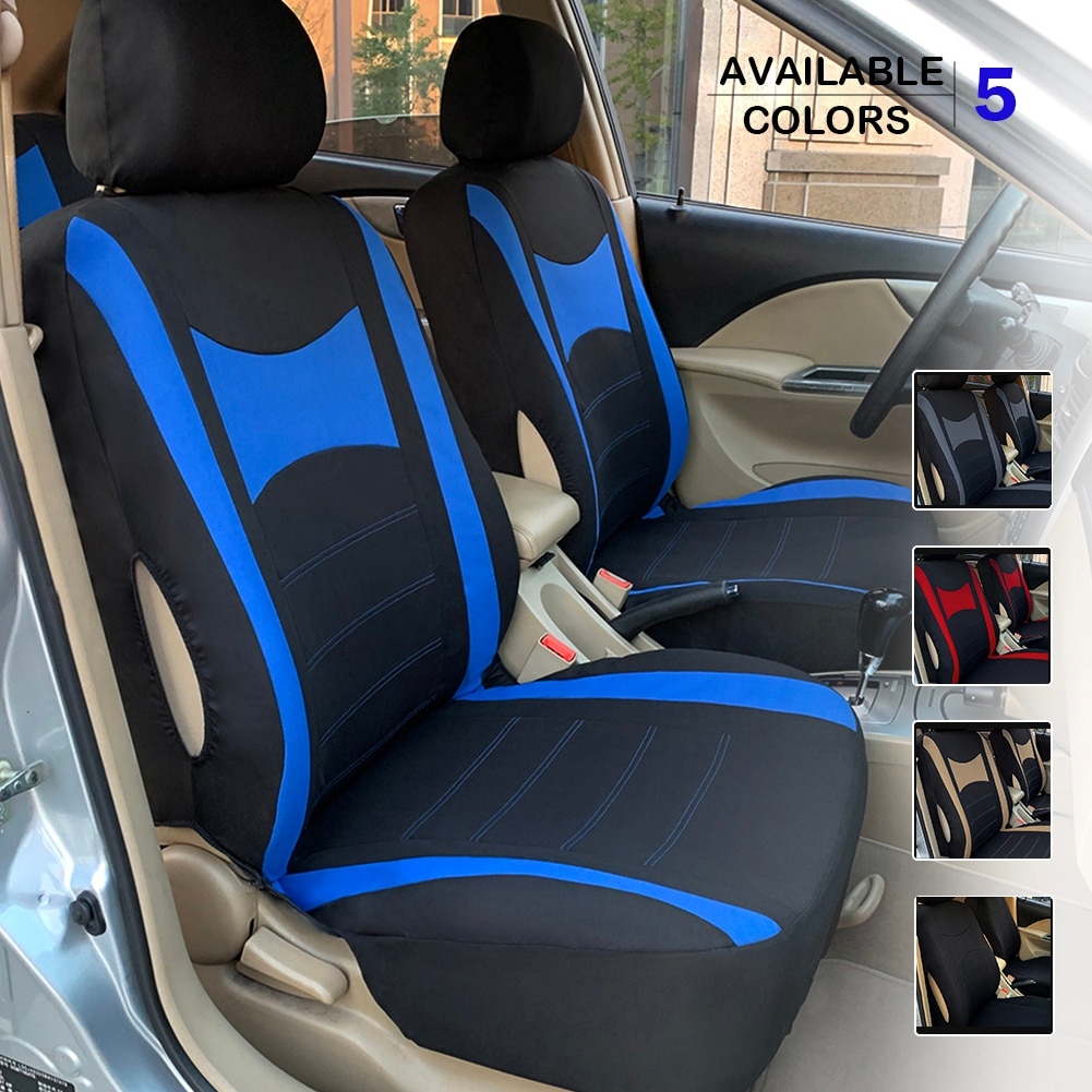 AliExpress - Universal Car Seat Covers 9pcs  Full Set Automobile Mesh Cloth  for Sedan Interior Decoration Accessories Automobile Protectors