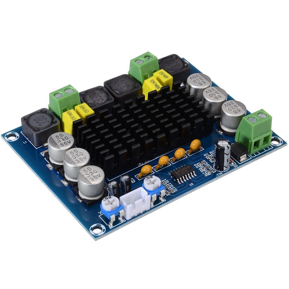 Onsale cc 12-26V TPA3116D2 Placa de amplificadores XH-M543 de doble canal estéreo de alta potencia Digital Audio amplificador de potencia placas 2x120W