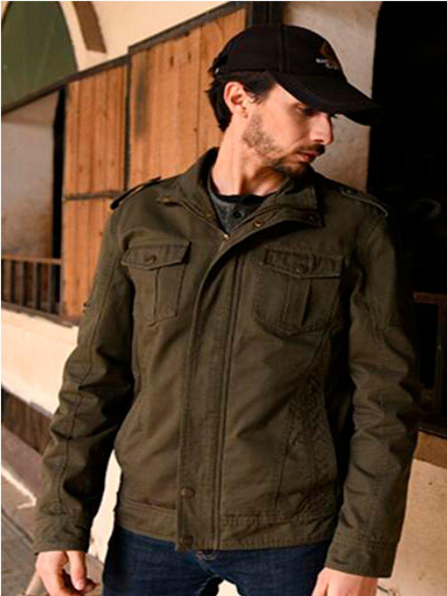 Мужская повседневная хлопковая куртка в стиле милитари, повседневная весенняя куртка, уличная верхняя одежда, куртка-карго, модная мужская ...