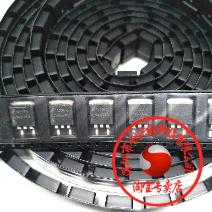 10 unids/lote G7N60A4D 7N60 chip de ordenador automotriz IC a-263 transistor de coche DPAK