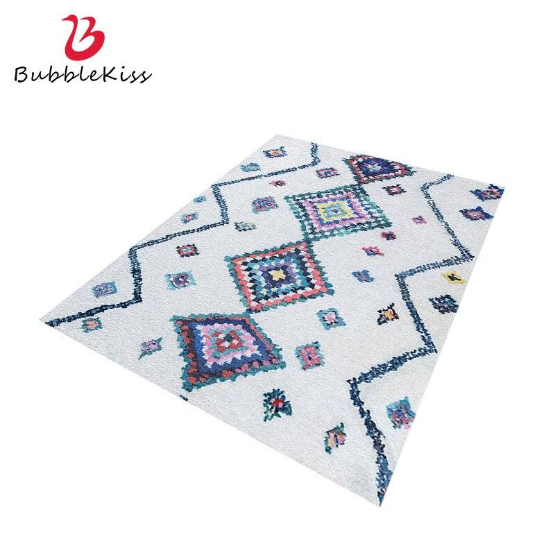 Bubble Kiss-سجادة أرضية على الطراز المغربي ، ديكور ناعم ومريح ومخصص ، لغرفة المعيشة وغرفة النوم وطاولة السرير