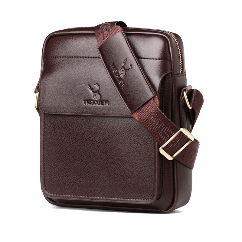 Men Tote Bags PU Leather Handbag Fashion Men Casual Messenger Bag Large Capacity Male Cross Body Shoulder Business Bags For Men