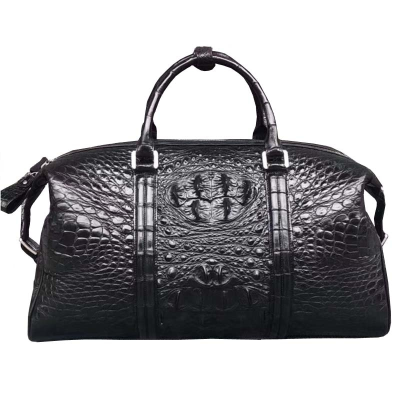 fanzunxing new arrival  crocodile leather big bag men's bag large size men and men carry business and leisure travel bag men