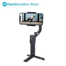 FeiyuTech Vlog Poche 2 Poche Smartphone Stabilisateur de Cardan selfie bâton pour iPhone 8 7 plus XS XR HUAWEI Samsung