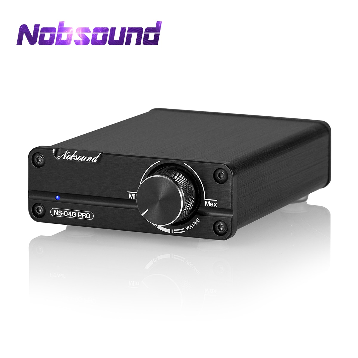 Nobsound-مضخم طاقة رقمي صغير ، مضخم صوت هاي فاي ، ستيريو ، 2.0 قناة ، فئة D ، صوت سطح المكتب المنزلي ، 50 واط ، 50 واط ، 100 واط 100 واط