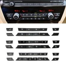 Consola Dash aire acondicionado botones clave de reemplazo para BMW 5 7 Serie F10 F18 F01 F02 520, 523, 525, 530, 730, 740