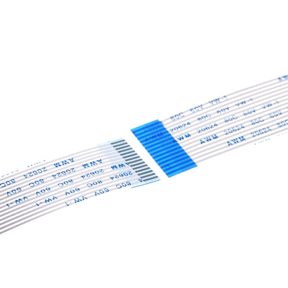 100 قطعة مرنة شقة كابل الأولى للتمويل 14 دبوس 1.25 مللي متر الملعب الاتصالات عكس الاتجاهات 35 60 100 200 280 مللي متر طول نوع B المعاكس