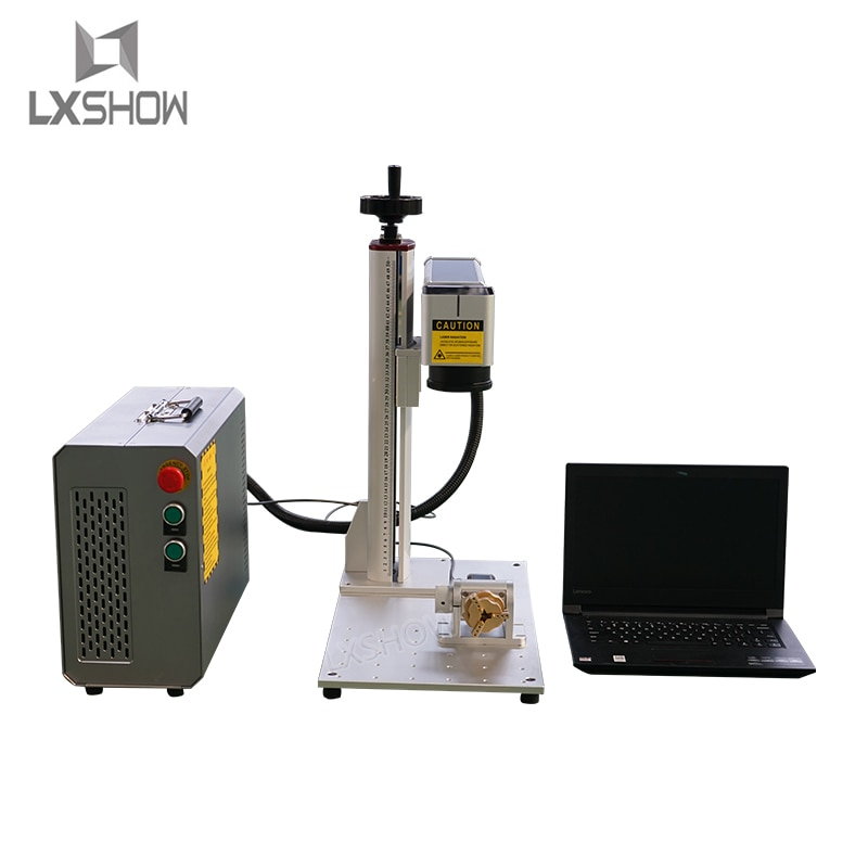 Máquina de marcado láser de fibra caliente para la aplicación del corte del Grabado de la joyería