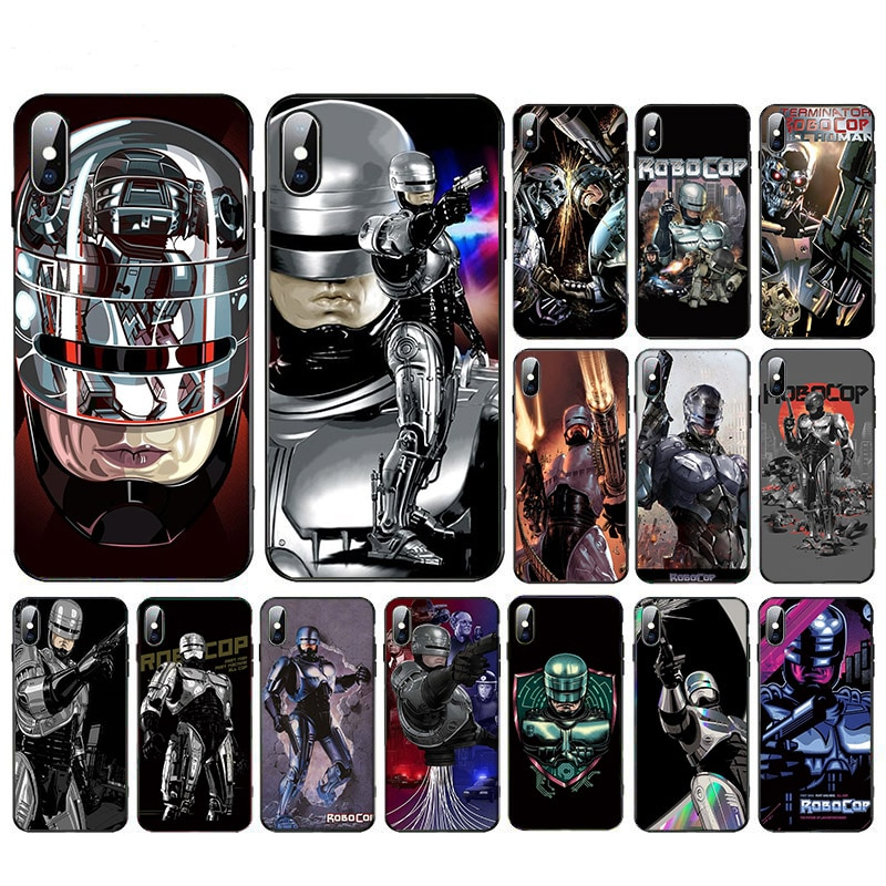 ROBOCOP High Quality Phone Accessories Case For Iphone 11 X 11pro XR XS MAX 5 6 7 8 5S SE 2020 plus