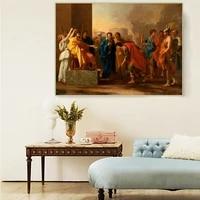 citon nicolas poussin%e3%80%8athe continence of scipio%e3%80%8bcanvas art oil painting famous artwork picture modern wall decor home decoration
