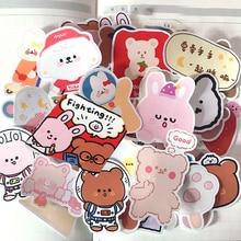 42PCS cute cartoon gummy Bears Stickers Crafts And Scrapbooking book Decorative sticker DIY Stationery