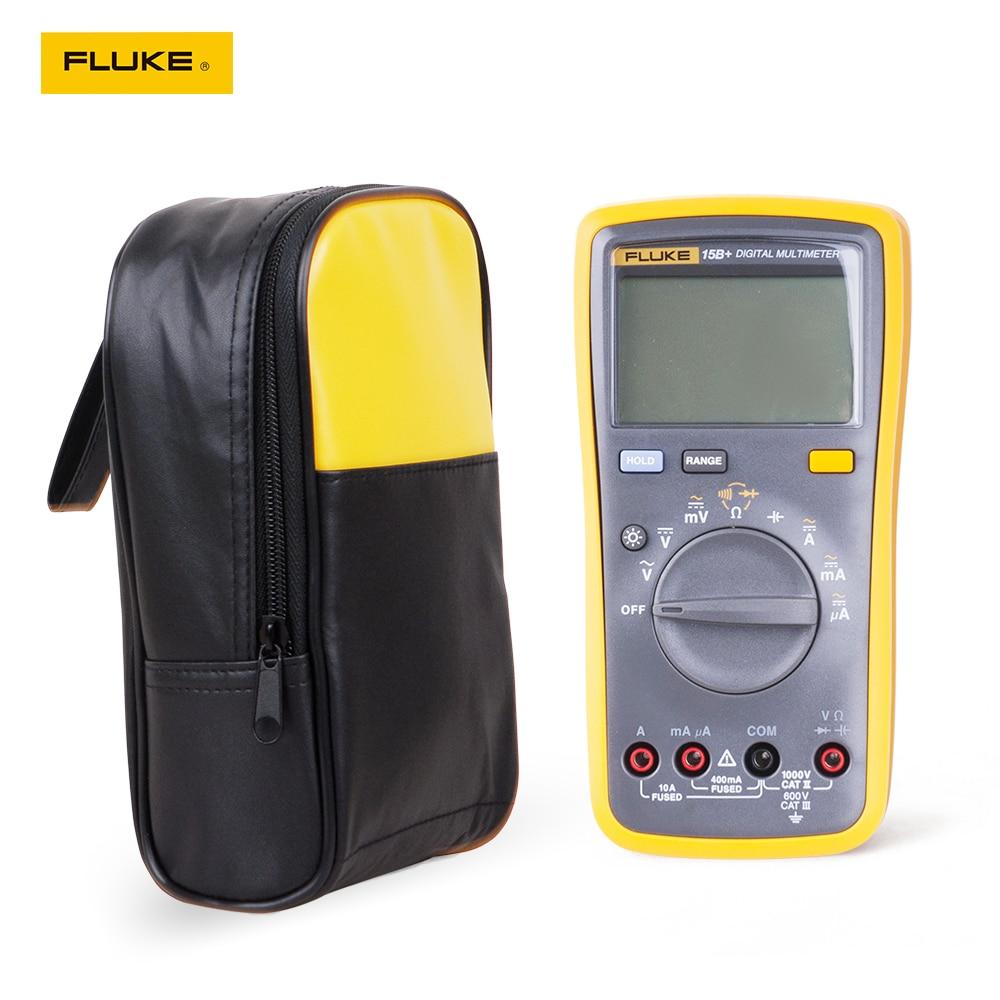 Fluke 15B-مقياس رقمي متعدد ، علبة حمل ناعمة