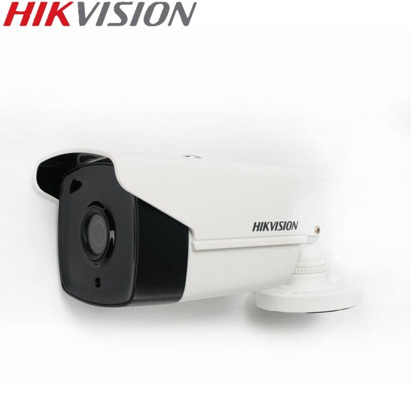 HIKVISION DS-2CE16D0T-ITFS Turbo HD 1080P 2MP IR bala Cámara conmutable TVI/AHD/CVI/CVB soporte de Audio/O IP66 impermeable