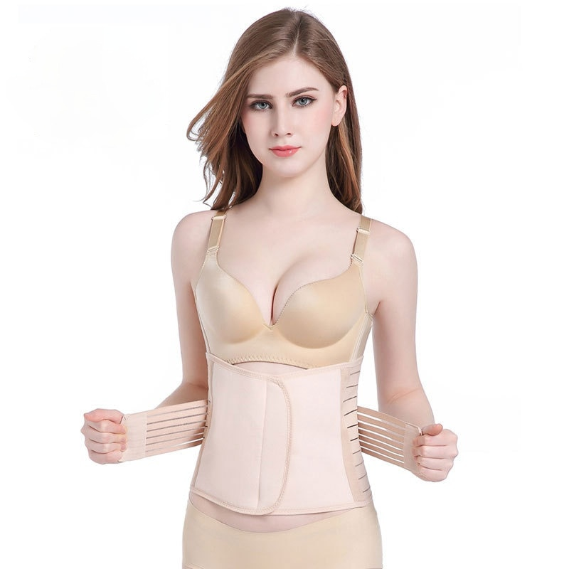 Postpartum Strengthening and Heightening Corset, Waist Breathable Abdomen Belt, Body Sculpting After Caesarean Section