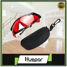 Hueper Laser pour lunettes rouges niveau instrument protection afsety amélioration lunettes laser lunettes lunettes rouge pour niveau laser