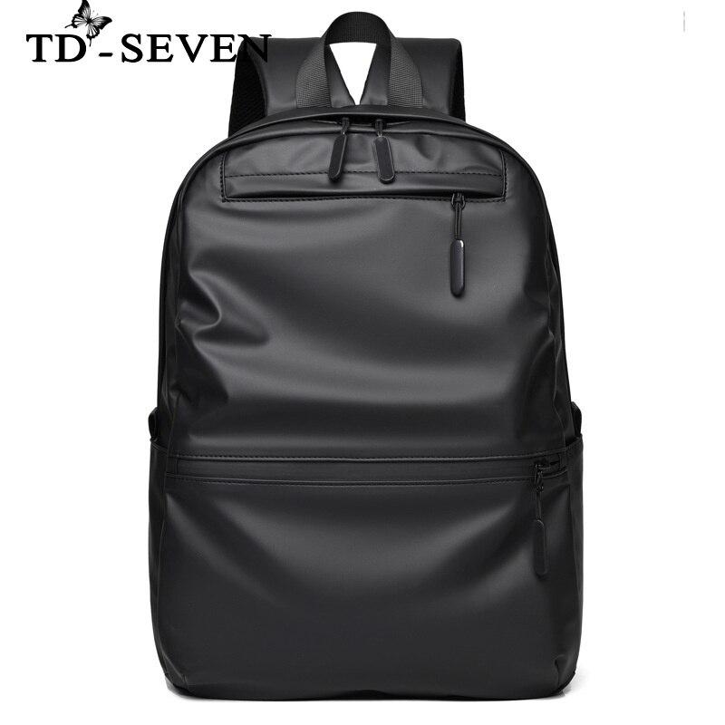الرجال على ظهره موضة جديدة للرجال حقيبة ظهر بسعة كبيرة موضة المدرسة المتوسطة طالب حقيبة مدرسية الترفيه السفر حقيبة حاسوب