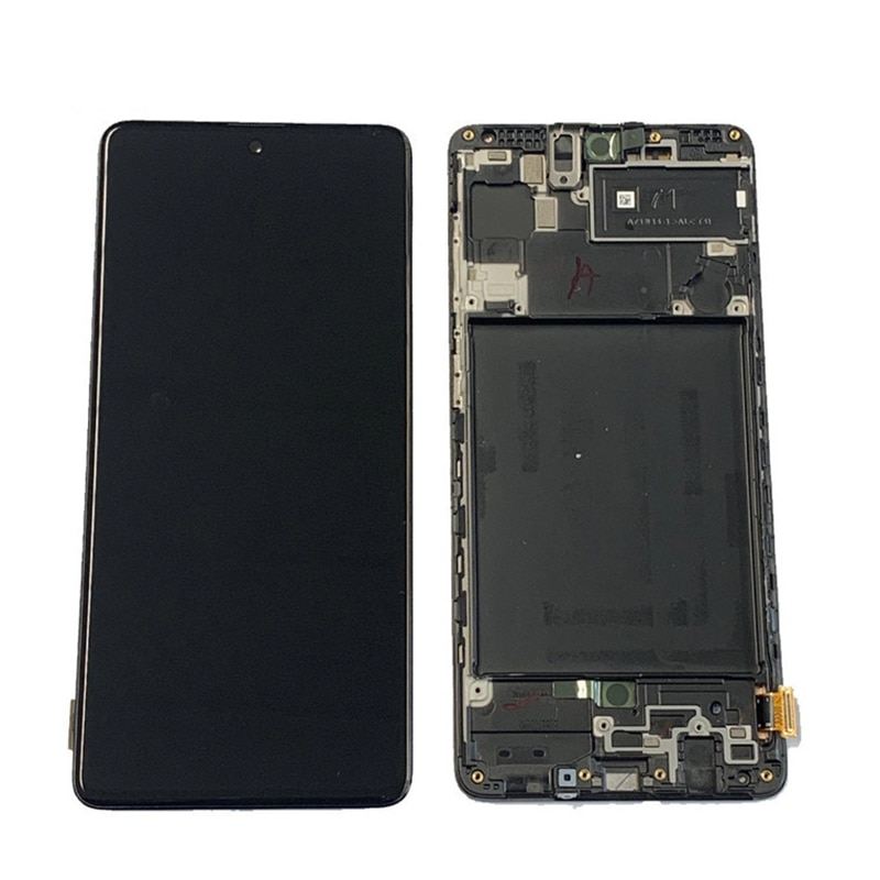 6.7'' Screen For Samsung Galaxy A71 Lcd Display Touch Screen Digitizer Assembly With Frame For Samsung A715 A715F A715W A715X enlarge
