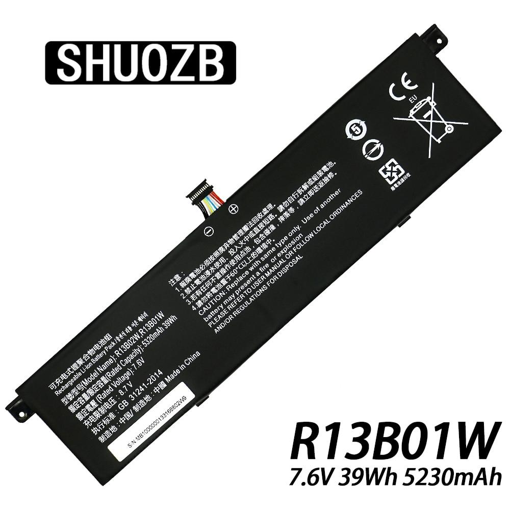 R13B01W Laptop Battery For Xiaomi Mi Air 13.3