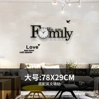large wall clock modern design personality watches creative network red minimalist living room art wall charts luxury clocks