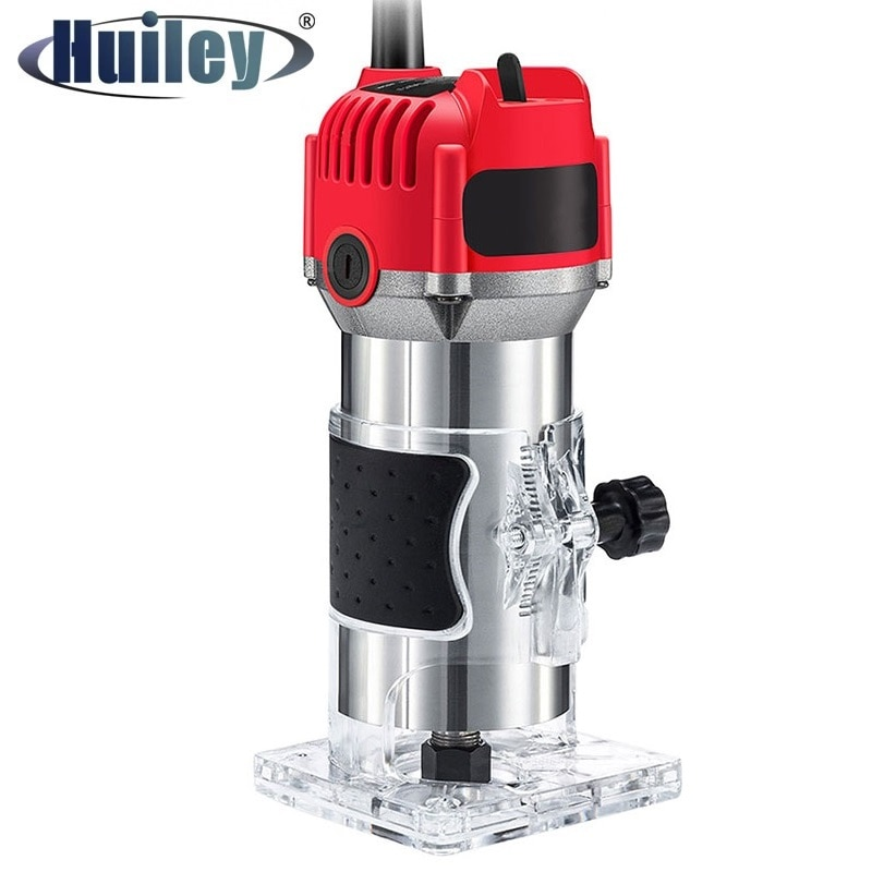 680W Professional Electric Wood Trimmer 20000rpm Engraving Milling Slotting Machines Furniture Decoration Woodworking Tools