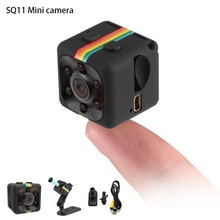 sq11 Mini Camera HD 1080P Night Vision Camcorder Motion Detection DVR Micro Camera Sport DV Video Ul