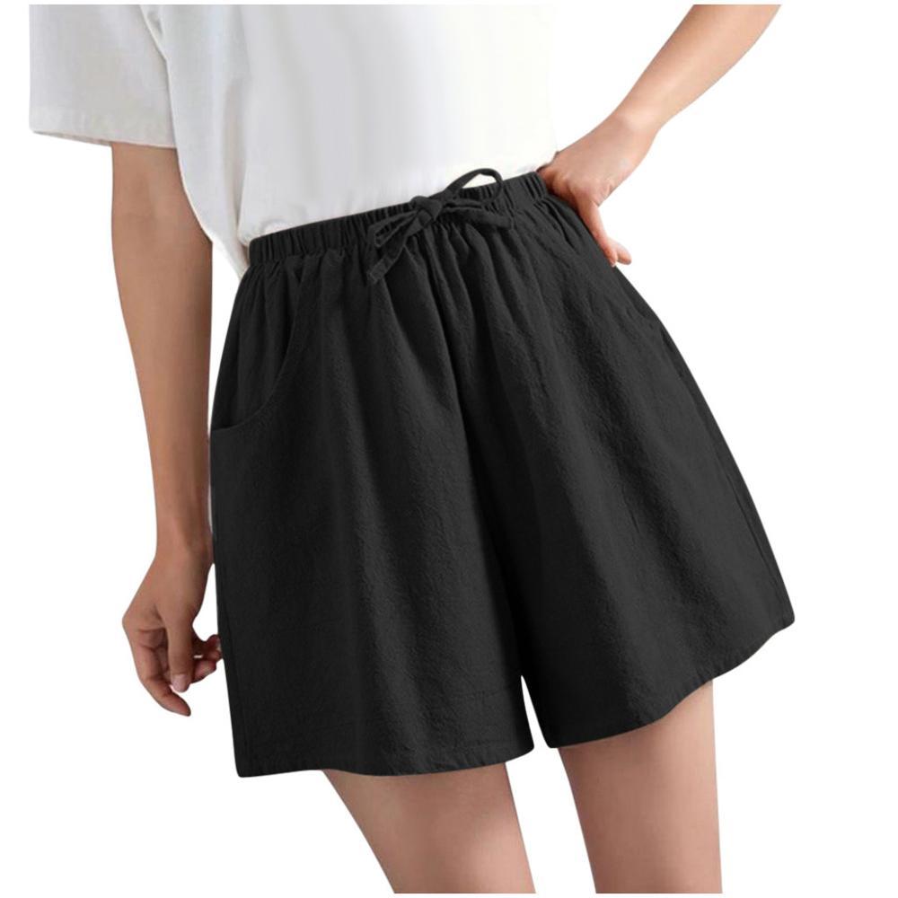 699. Pantalones cortos de Fitness finos informales para mujer