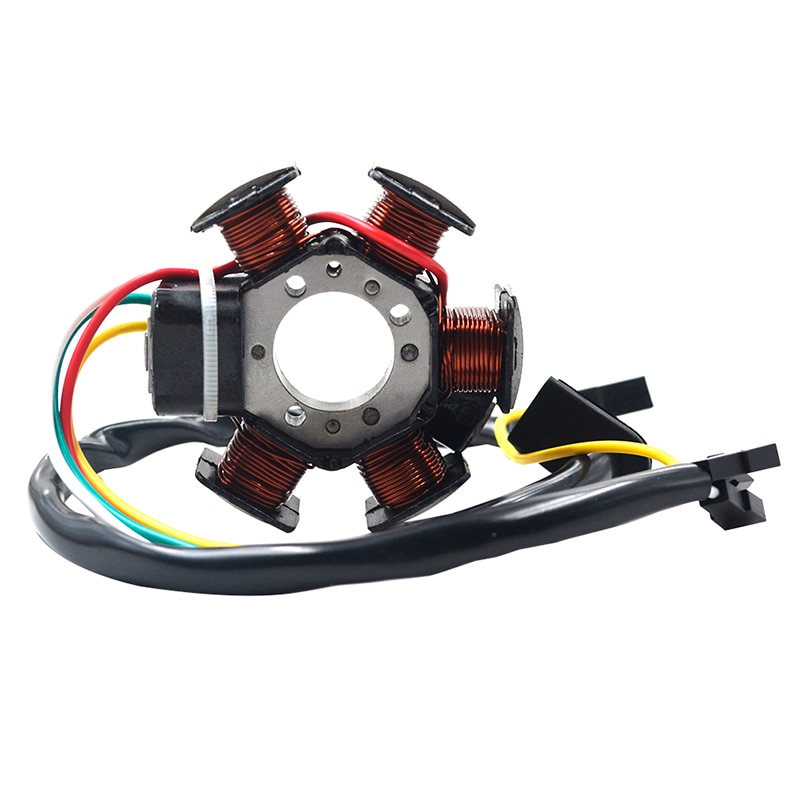 Bobine magnétique dalternateur de plaque de Stator de générateur de moto pour Aprilia RS50 RX50 MX50 1999-2005 pour Peugeot XP6 XPS XP6S XR6 50