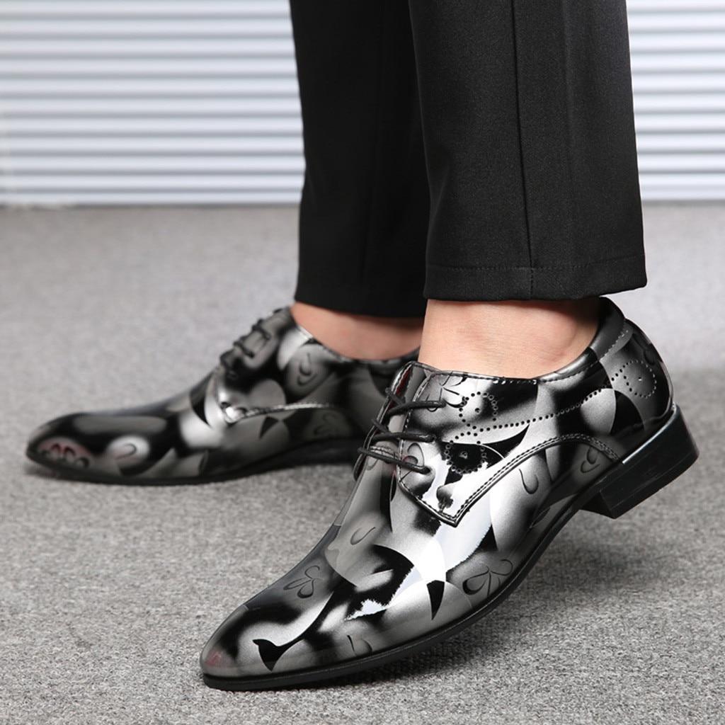 Zapatos de boda de vestir de BONJEAN, zapatos formales italianos de charol para hombre, zapatos elegantes para hombre, zapatos clásicos para hombre, bona