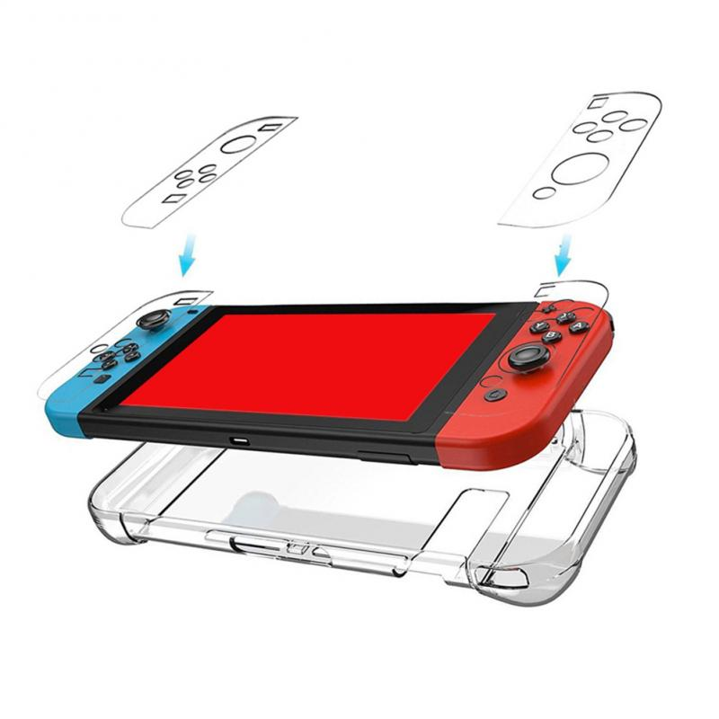 ¡Novedad de 2020! Funda protectora rígida transparente para consola de juegos, funda a prueba de golpes para Nintendo Switch/Lite/para Animal Crossing