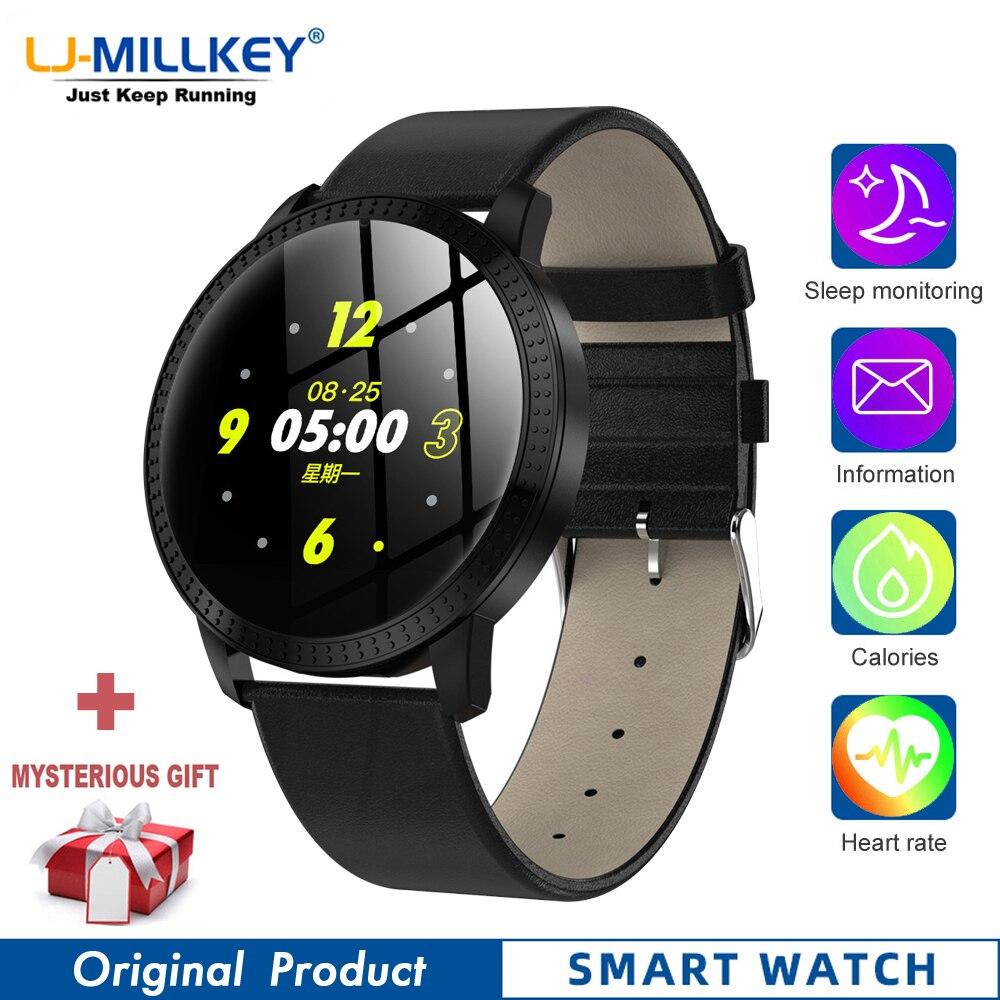 CF18 Смарт-часы для женщин reloj hombre smartwatch фитнес-трекер reloj inteligente hombre полный сенсорный экран монитор артериального давления