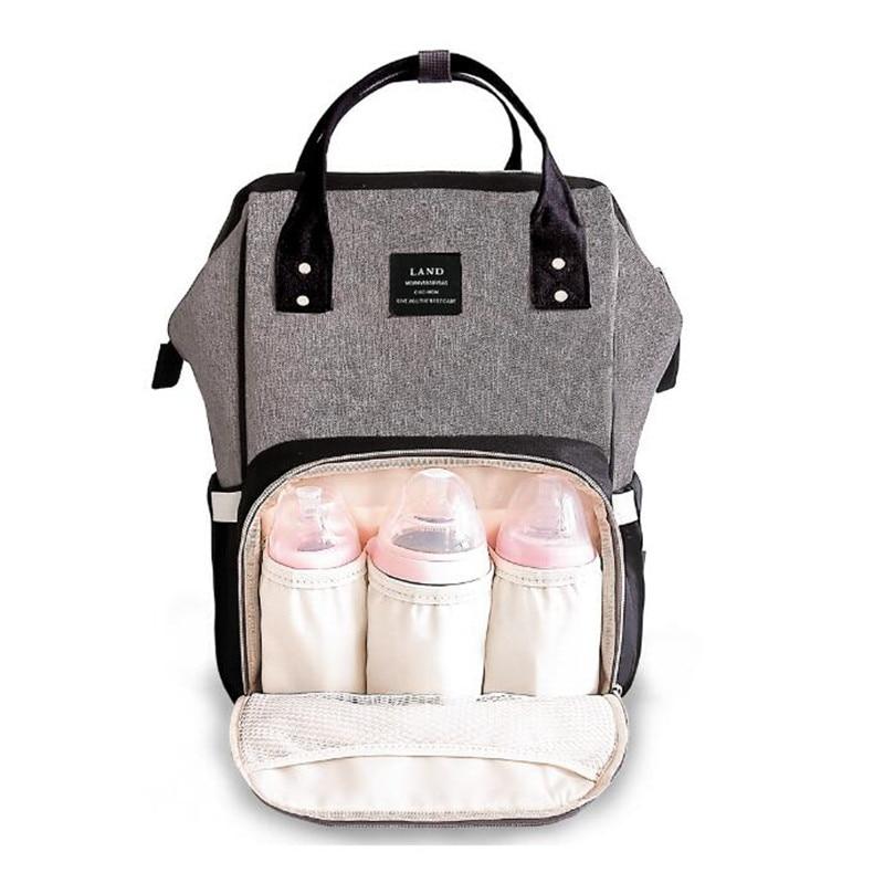 Сумка для подгузников LAND Mummy, рюкзак большой вместимости, детская сумка, рюкзак для путешествий, многофункциональный рюкзак для мам, сумка