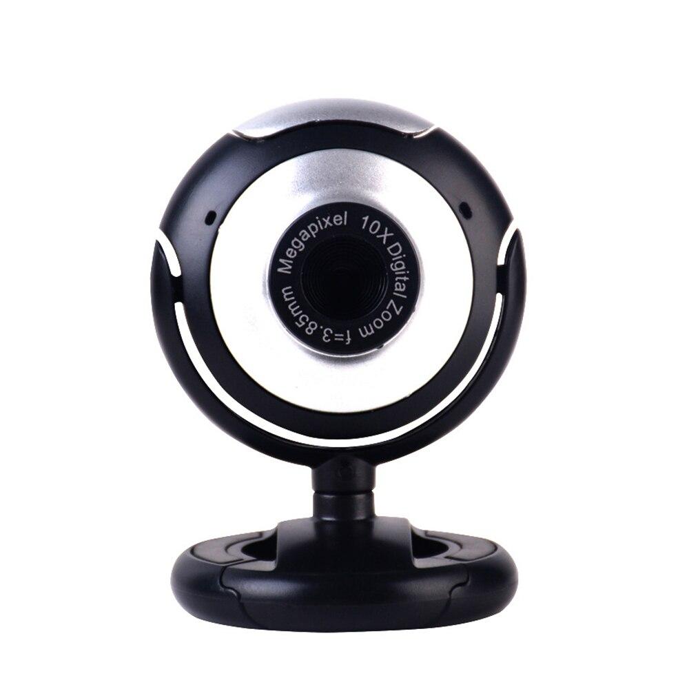 Stock cámara Web USB 480P Webcam portátil Plug & Play micrófono de Chat de vídeo de la Cámara de la PC para la transmisión en vivo de la Conferencia de Macbook