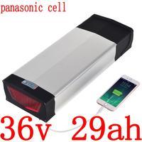 36V 500W 1000W Lithium Battery 36V 30AH Electric Bike battery 36V 15Ah 17Ah 20Ah 23Ah 26Ah 29Ah Ebike Battery use panasonic cell