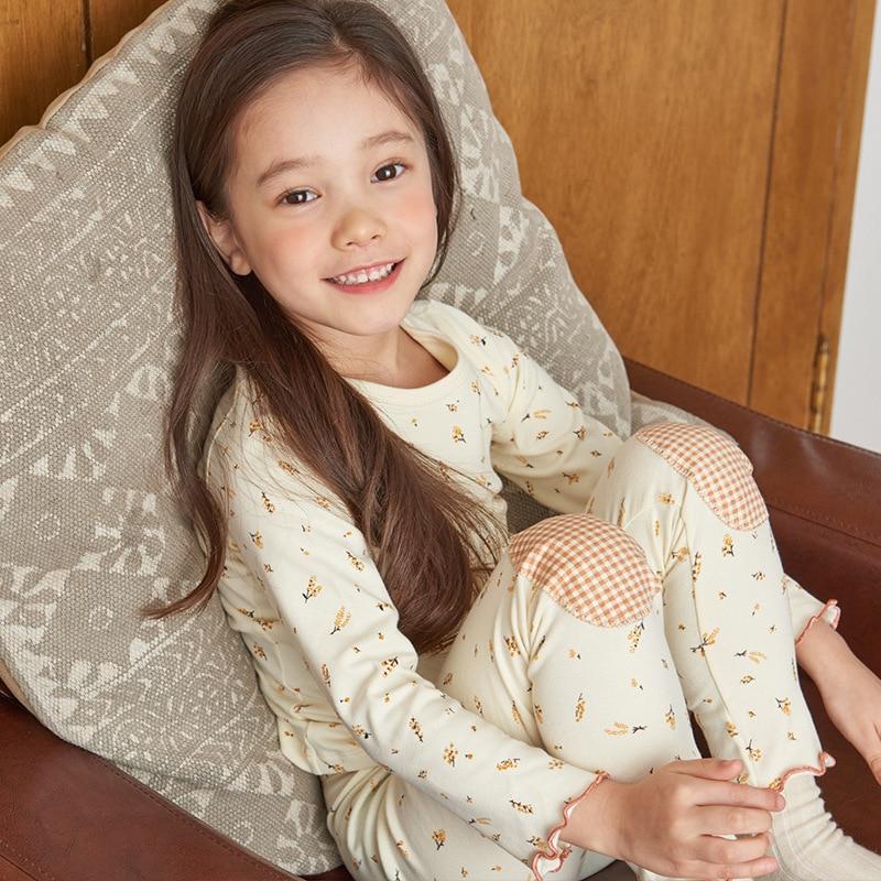 Autumn Baby Girls Clothing Sets Long Sleeve Girls Clothes Sets Cotton Kids Clothes For Girls Children's Sets Flower Sweet Set