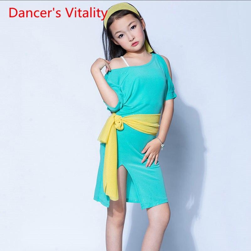 Ren's Robe-فستان تدريب للرقص الشرقي ، لون عادي ، تنورة تمرين ، بدلة أداء ، 4 قطع ، مجموعة جديدة 2020