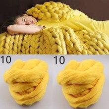 116 color 50g Merino wool thick 8CM Wool felt yarn DIY Wool felt doll puppet Woollen yarn Knitted blanket Pet nest