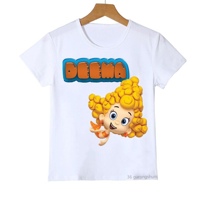 Camiseta con estampado de dibujos animados de tornillo para niños y niñas,...