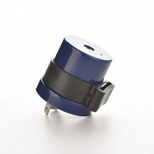 Motor Buzzer Flasher Relay Indicator DC 6V 12V Input 2 Pins Motorcycle Blue Inbuilt Beeper Flasher Turn Signal LED Blinker