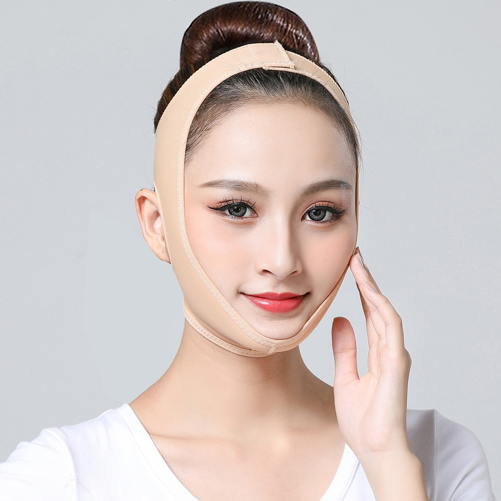 Delicate Facial Thin Face Mask Slimming Bandage Skin Care Belt Shape And Lift Reduce Double Chin Fac
