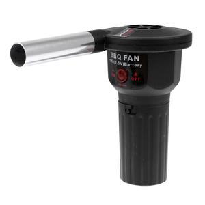 Открытый портативный Электрический воздуходувка барбекю фен для волос пожарный инструмент