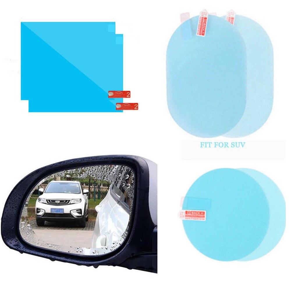 Película protectora para espejo retrovisor de coche, ventana antiniebla, espejo retrovisor transparente, accesorios para coche