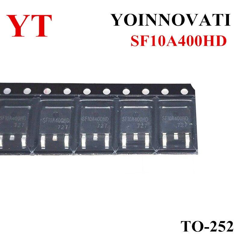 50PCS SF10A400HD SF10A400 10A400 10A400HD DPAK Melhor qualidade